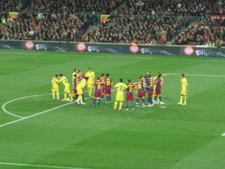 FC Barcelona vs Villareal, penalty!